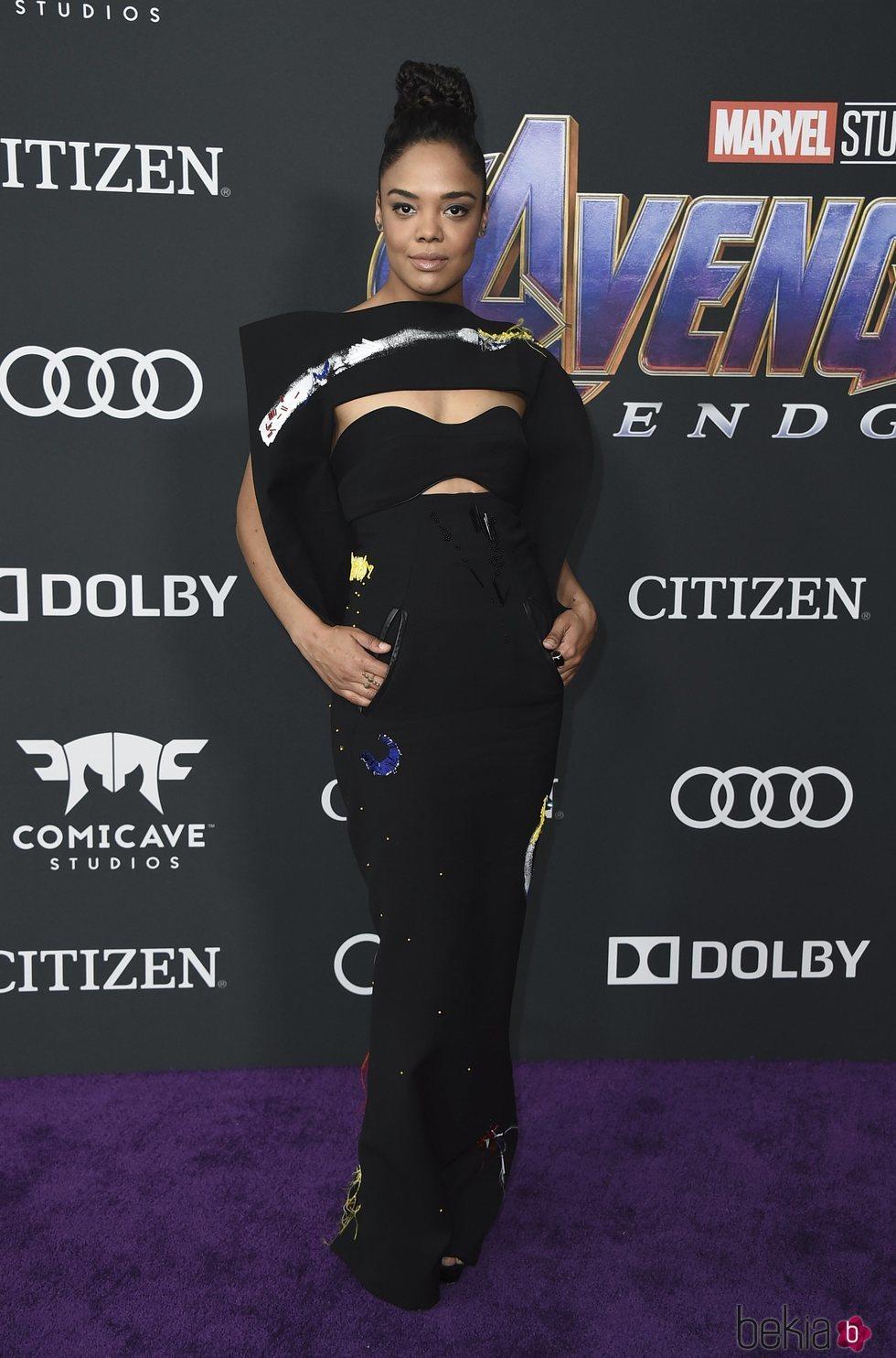Tessa Thompson  en la premiere de 'Vengadores: Endgame'