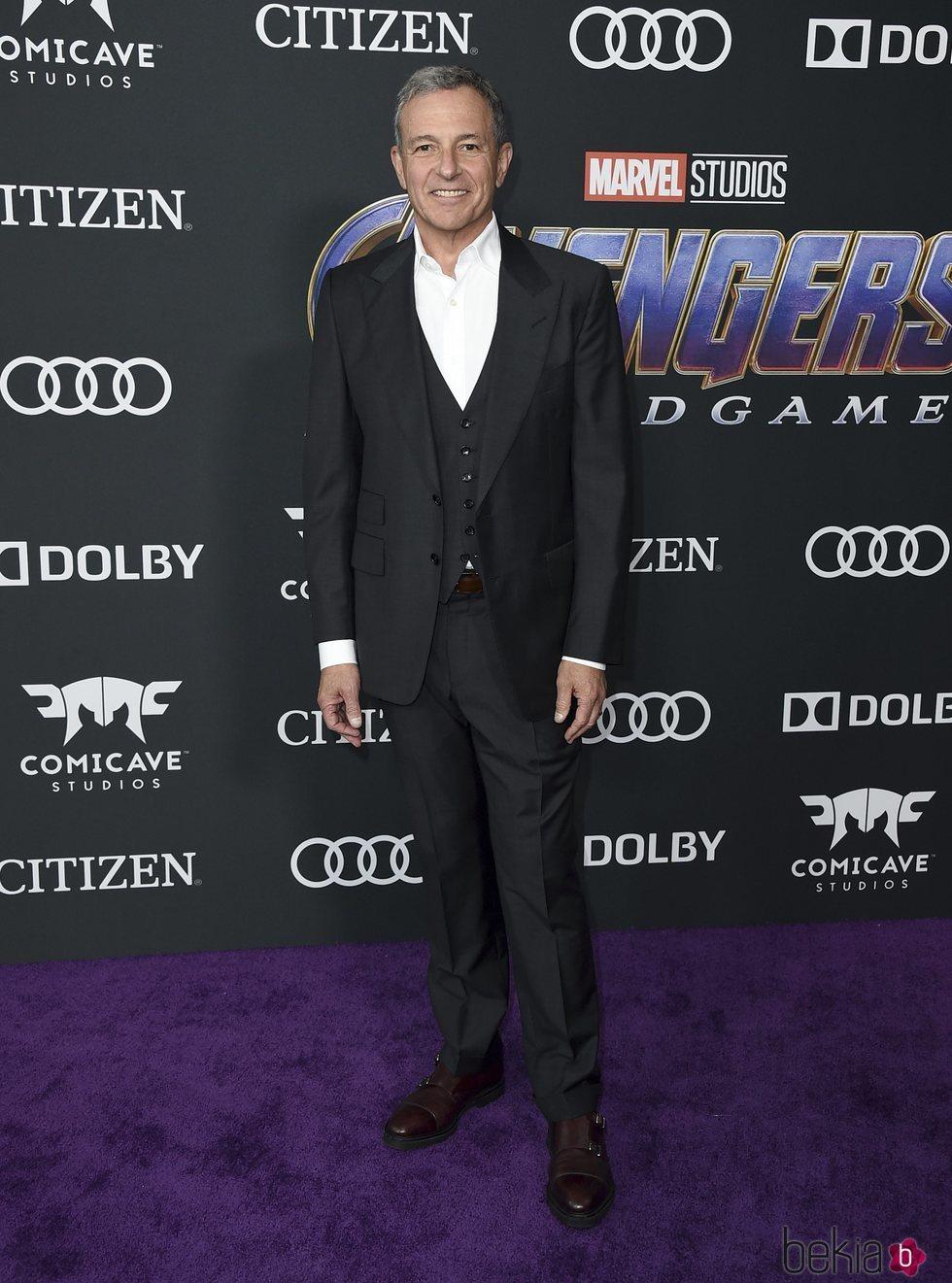 Bob Iger en la premiere de 'Vengadores: Endgame'