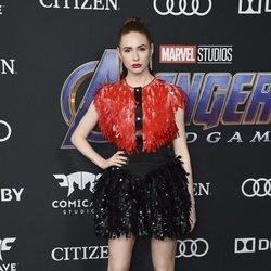 Karen Gillan en la premiere de 'Vengadores: Endgame'