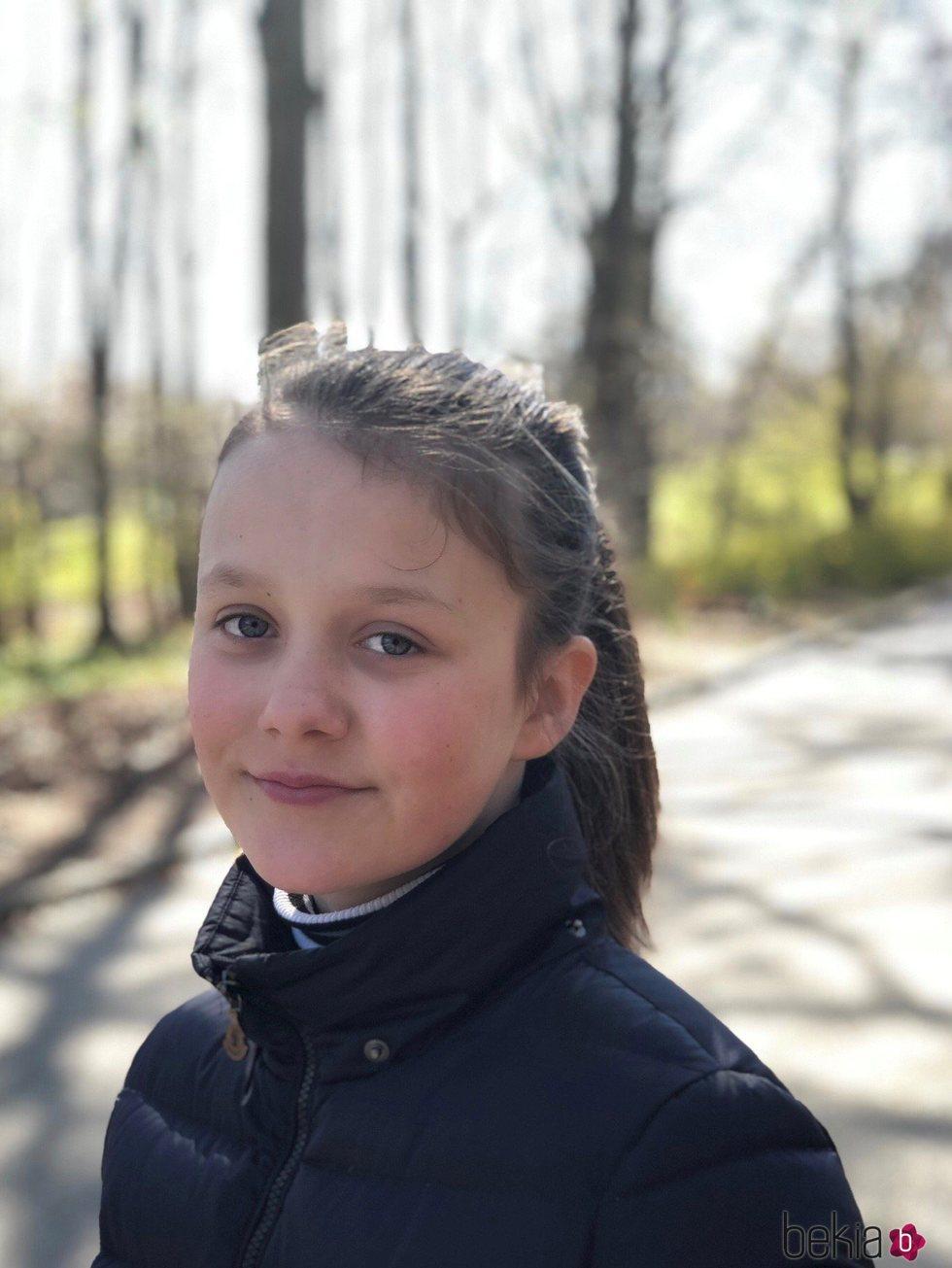 Isabel de Dinamarca en su 12 cumpleaños