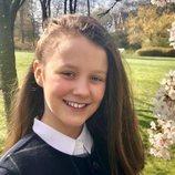 Isabel de Dinamarca posa muy sonriente en su 12 cumpleaños