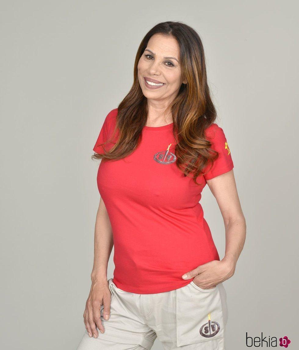 Toñi Salazar posa como concursante de 'Supervivientes 2019'