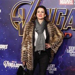 Silvia Jato en la premiere de 'Los Vengadores: Endgame' en Madrid