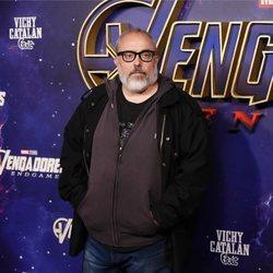 Álex de la Iglesia en la premiere de 'Los Vengadores: Endgame' en Madrid