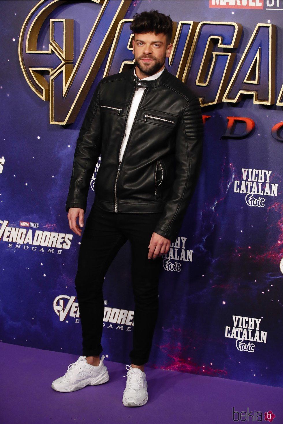 Ricky Merino en la premiere de 'Los Vengadores: Endgame' en Madrid