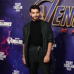 Agoney en la premiere de 'Los Vengadores: Endgame' en Madrid