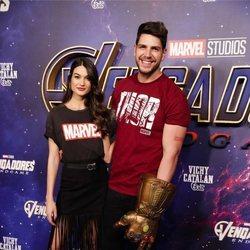 Diego Matamoros y Estela Grande en la premiere de 'Los Vengadores: Endgame' en Madrid