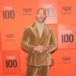 Dwayne Johnson en la Gala Time 100
