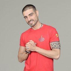 Fabio Colloricchio posando como concursante de 'Supervivientes 2019'