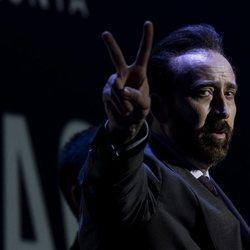 Nicolas Cage en el Festival de Cine de Sitges de 2018