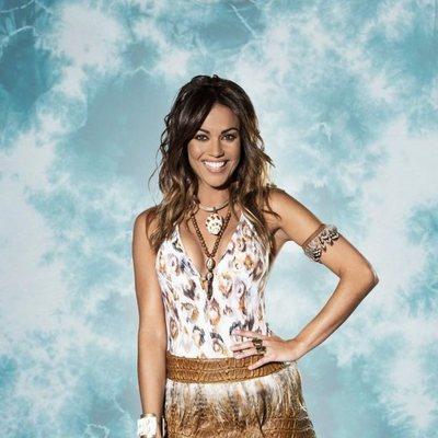 Lara Álvarez posando como presentadora de 'Supervivientes 2019'