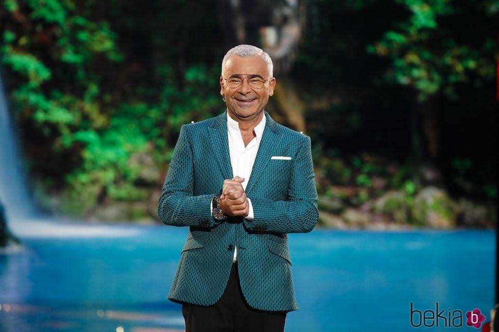Jorge Javier Vázquez muy feliz en su vuelta a la televisión tras sufrir un ictus