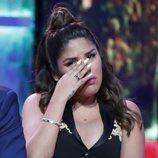 Chabelita Pantoja muy emocionada en la gala de estreno de 'Supervivientes 2019'