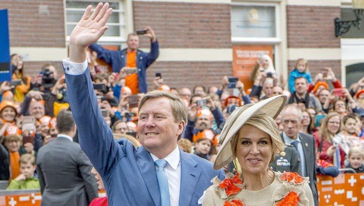 El Rey Guillermo y la Reina Máxima de Holanda en el Día del Rey 2019