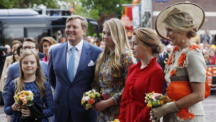 La Familia Real Holandesa en el Día del Rey 2019