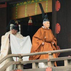 El ritual de abdicación del Emperador Akihito de Japón celebrado el 30 de abril de 2019