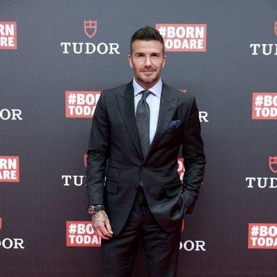 David Beckham en el evento de los relojes Tudor en Madrid