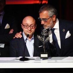 Jesus Vidal y Javier Fesser en los Premios Sant Jordi 2019