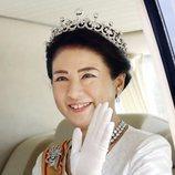 La Emperatriz Masako llega al Palacio Imperial para la proclamación de Naruhito de Japón