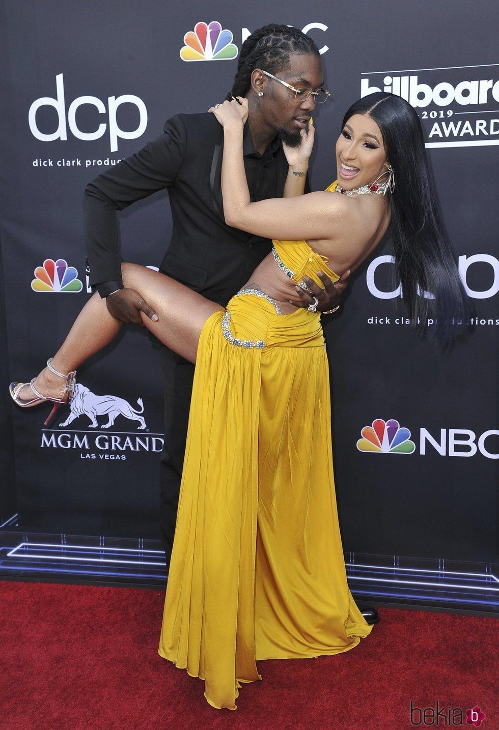 Cardi B y Offset en los Billboard Music Awards 2019