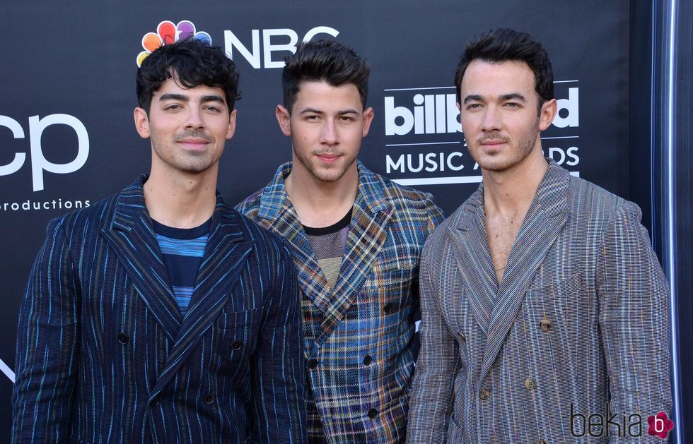 Los Jonas Brothers en los Billboard Music Awards 2019