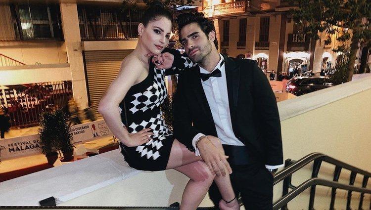 Andrea Duro y Juan Betancourt en el Festival de Cine de Málaga 2019