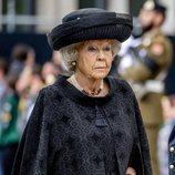 Beatriz de Holanda en el funeral del Gran Duque Juan de Luxemburgo