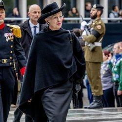 Margarita de Dinamarca en el funeral del Gran Duque Juan de Luxemburgo