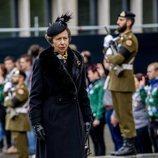 La Princesa Ana de Inglaterra en el funeral del Gran Duque Juan de Luxemburgo
