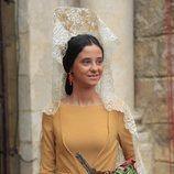 El estilismo de Victoria de Marichalar como madrina de la 34 Exhibición de Enganches el 5 de mayo de 2019