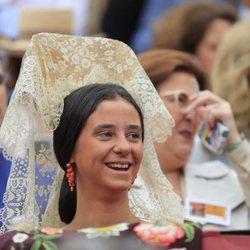 Victoria Federica de Marichalar en La Maestranza de Sevilla como madrina de honor el 5 de mayo de 2019