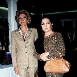 Pitita Ridruejo y Sara Montiel