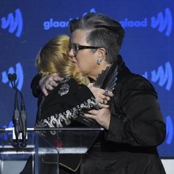 Madonna y Rosie O'Donnell en los GLAAD Media Awards 2019
