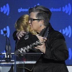 Madonna y Rosie O'Donnell en los GLAAD Media Awards 2019