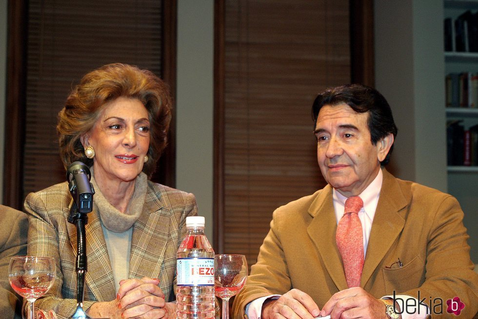 Pitita Ridruejo y Enrique Cornejo
