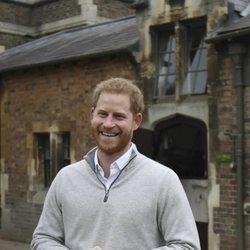 El Príncipe Harry, emocionado tras ser padre de su primer hijo