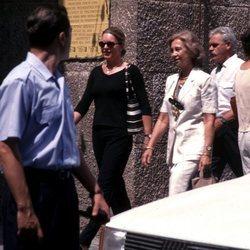 La Reina Sofía y Noor de Jordania, de compras en Mallorca