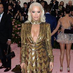 Rita Ora en la alfombra roja de la Gala MET 2019