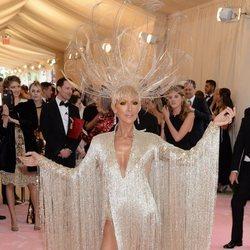 Céline Dion en la alfombra roja de la Gala MET 2019