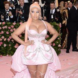 Nicki Minaj en la alfombra roja de la Gala MET 2019