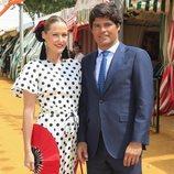 Fiona Ferrer y Javier Fal Conde en la Feria de Abril 2019