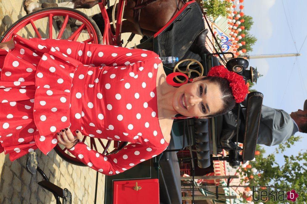 Raquel Revuelta en la Feria de Abril 2019