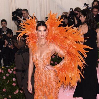 Kendall Jenner en la alfombra roja de la Gala MET 2019