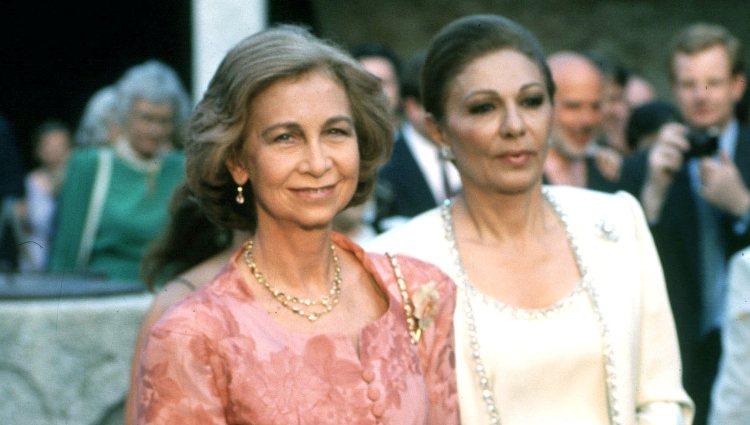 La Reina Sofía y Farah Diba