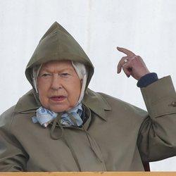 La Reina Isabel en Royal Windsor Horse Show