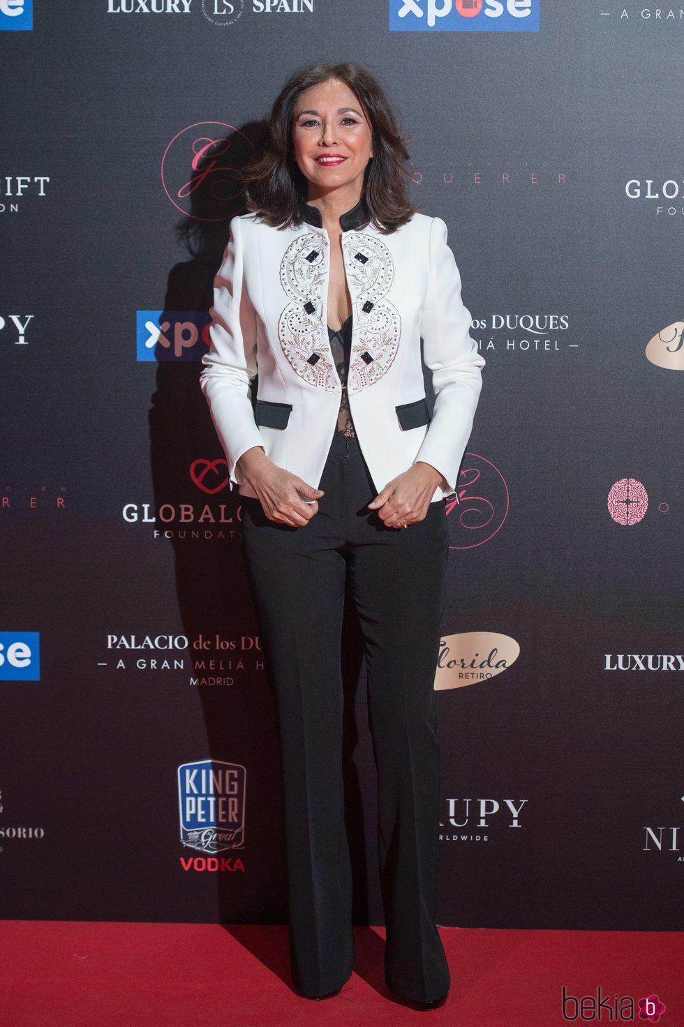 Isabel Gemio en la Gala Global Gift 2019