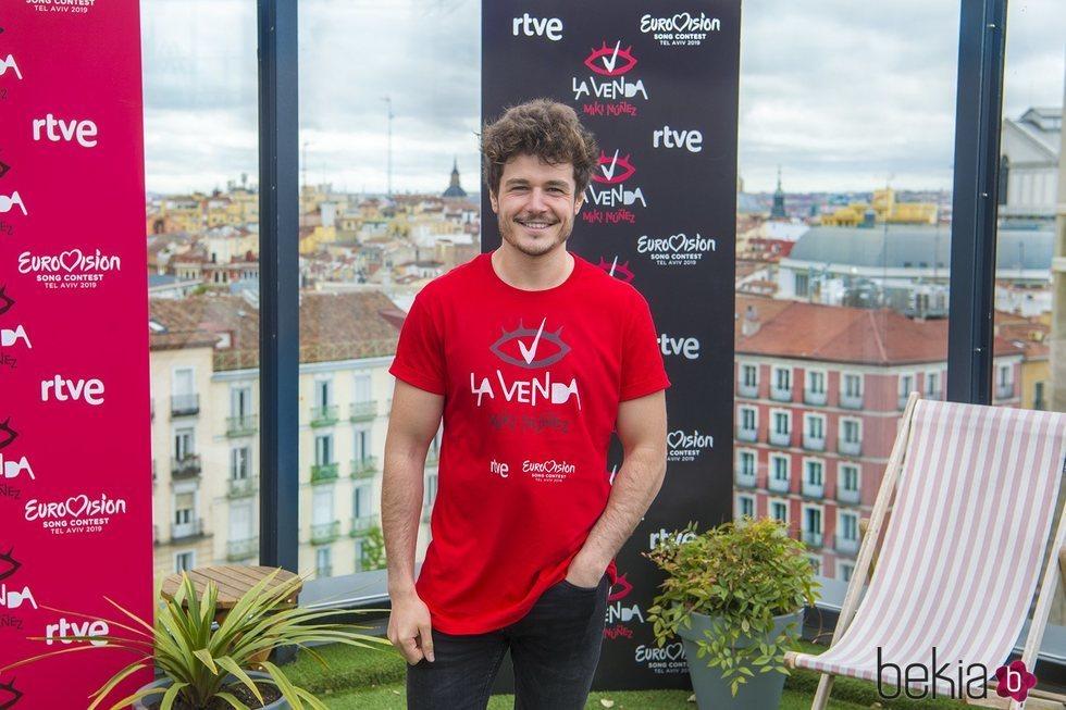 Miki Núñez en su despedida antes de partir a Eurovisión 2019