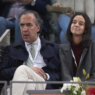 Jaime de Marichalar y Victoria Federica en el Madrid Open 2019