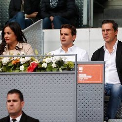 Albert Rivera en el Madrid Open 2019
