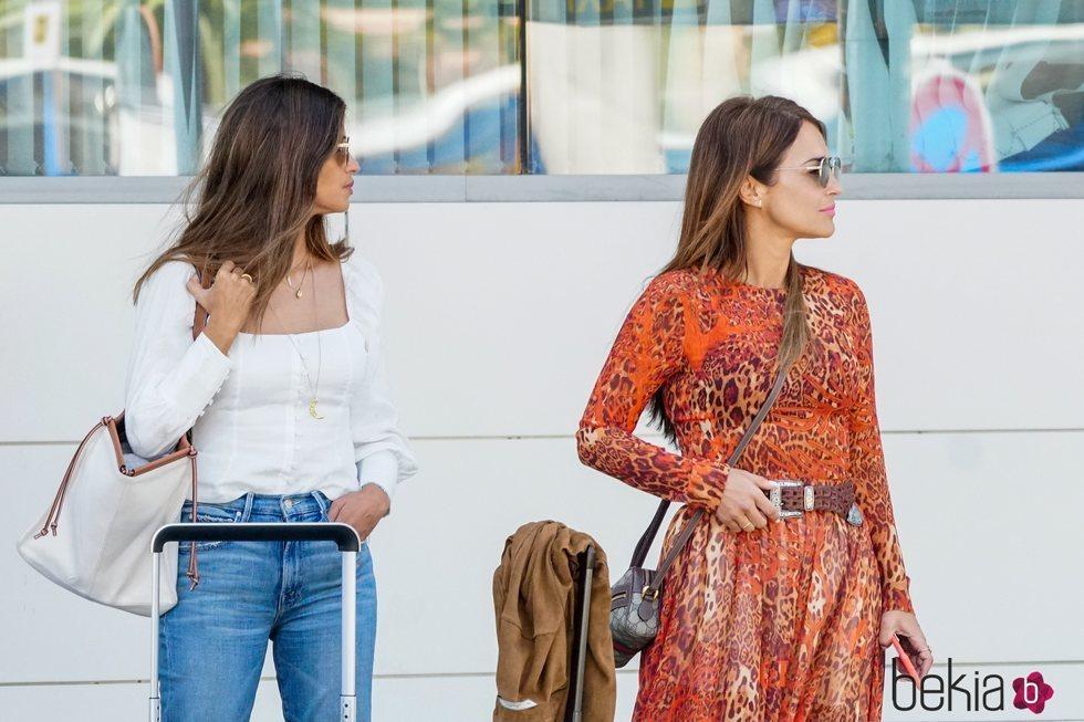 Sara Carbonero y Paula Echevarría, juntas en Ibiza